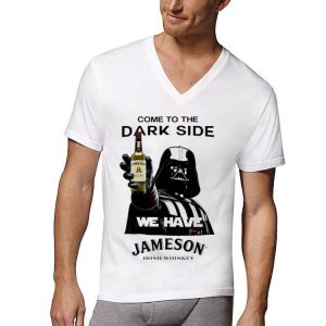 Star Wars Darth Vader come to the dark side we have Jameson Irish Whiskey shirt