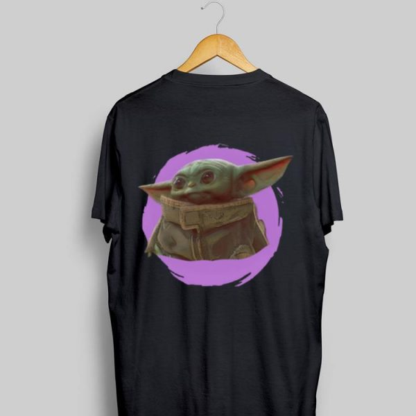 Star Wars Mandalorian Baby Yoda The Child Purple Ball sweater
