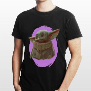 Star Wars Mandalorian Baby Yoda The Child Purple Ball sweater