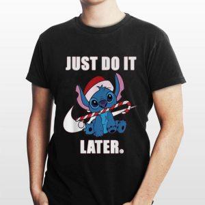 Stitch just do it Nike later shirt