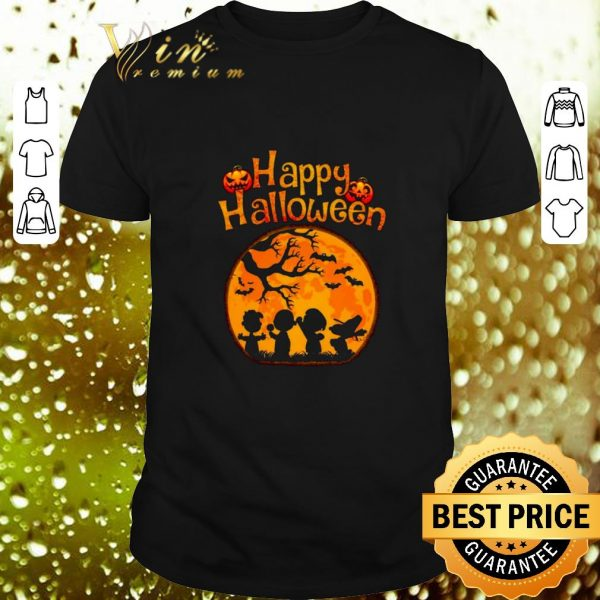 Top Happy halloween Peanuts characters shirt