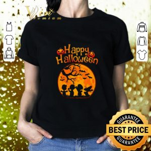 Top Happy halloween Peanuts characters shirt