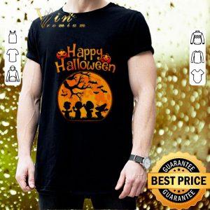 Top Happy halloween Peanuts characters shirt 2