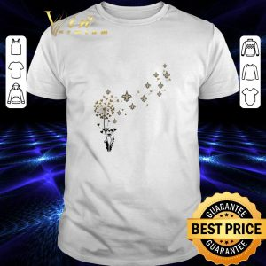Top New Orleans Saints dandelion flower shirt