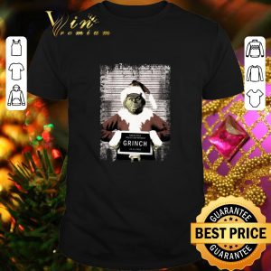 Top The Grinch North Pole Police Department Grinch Christmas shirt