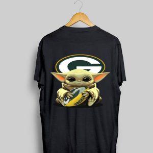 Baby Yoda Hug Green Bay Packers shirt