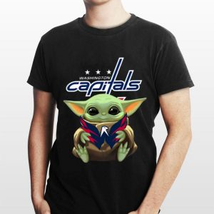 Baby Yoda Hug Washington Capitals shirt