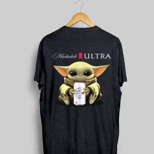 Baby Yoda hug Michelob Ultra beer shirt