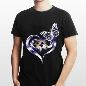 Butterfly Love Baltimore Ravens shirt