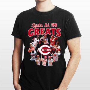 Cincinnati Reds All-time Greats Players Signatures sweater
