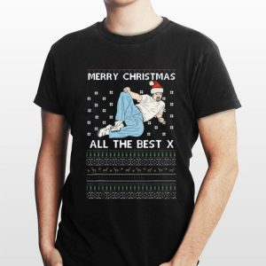 David Brent Merry christmas all the best x ugly christmas sweater