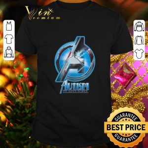 Hot Avenger Autism my super power shirt