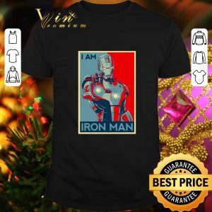 Hot Avenger Endgame I am Iron man Vintage shirt