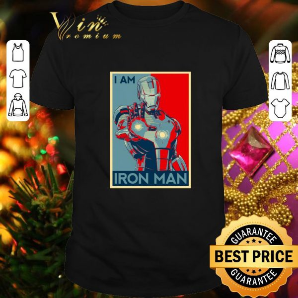 Hot Avenger Endgame I am Iron man Vintage shirt