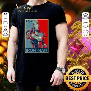 Hot Avenger Endgame I am Iron man Vintage shirt 2