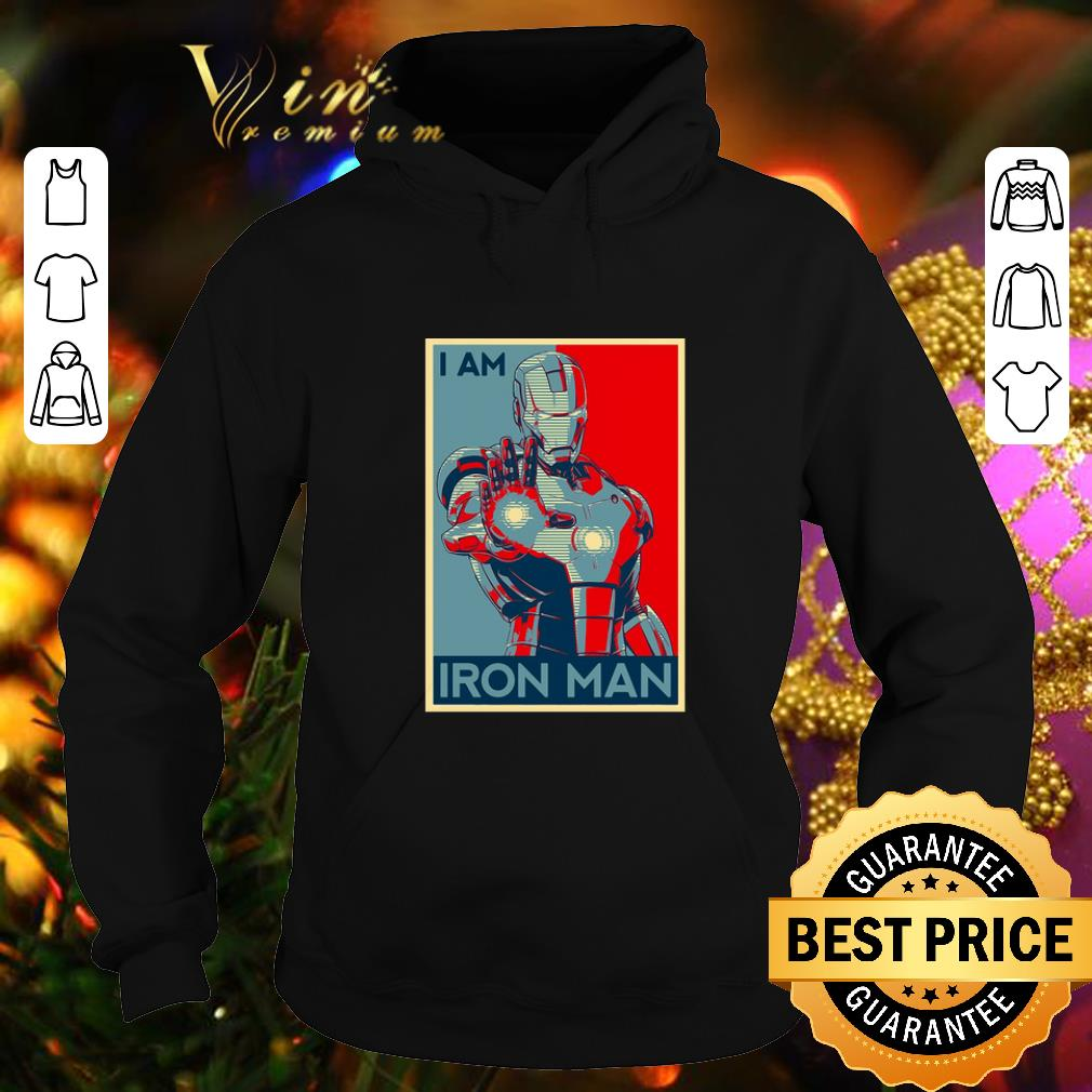 Hot Avenger Endgame I am Iron man Vintage shirt 4 - Hot Avenger Endgame I am Iron man Vintage shirt