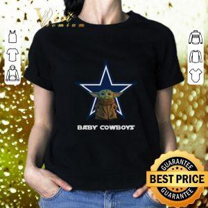 Hot Baby Yoda Baby Cowboys Dallas Cowboys shirt