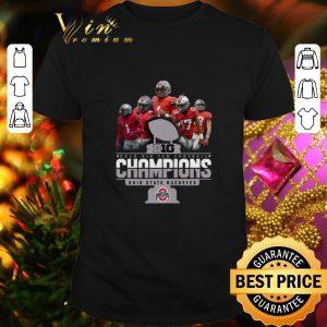 Hot Big 2019 Big Ten Football Champions Ohio State Buckeyes shirt