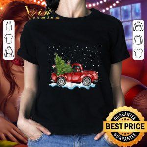 Hot Boston Terrier Truck Christmas shirt