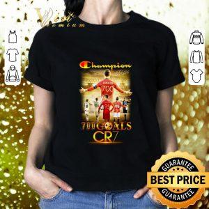 Hot Champion 700 goals CR7 signature shirt 1