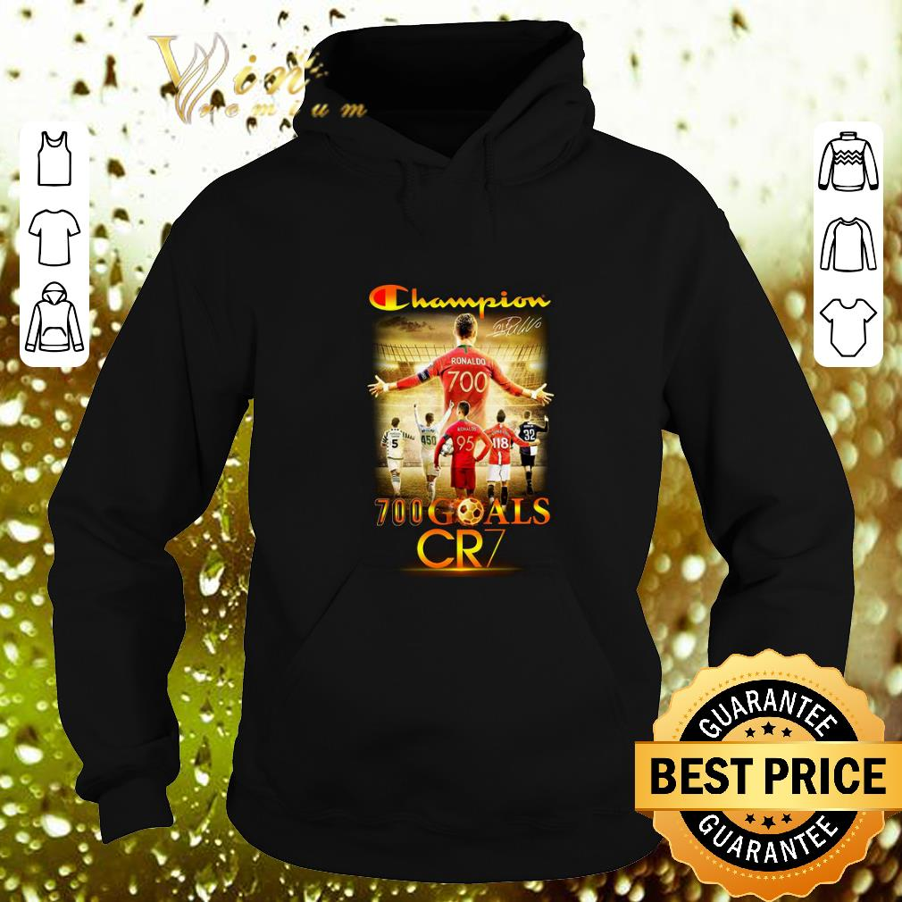 Hot Champion 700 goals CR7 signature shirt 4 - Hot Champion 700 goals CR7 signature shirt
