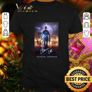 Hot Chris Evans Captain America Avengers assemble signature shirt