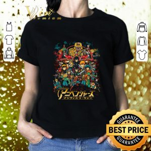 Hot Cowboy Bebop to My Hero Academia your childhood anime as Avengers in Infinity War shirt