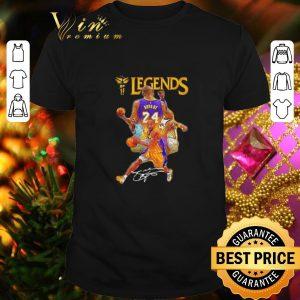 Hot Kobe Bryant 24 Los Angeles Lakers Legends signature shirt