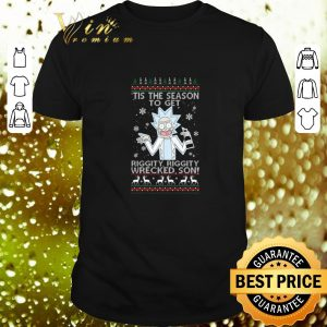 Hot Rick tis the season to get riggity riggity wrecked son Christmas sweater