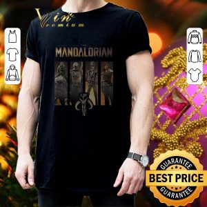 Hot Star Wars The Mandalorian Group Line Up shirt 2