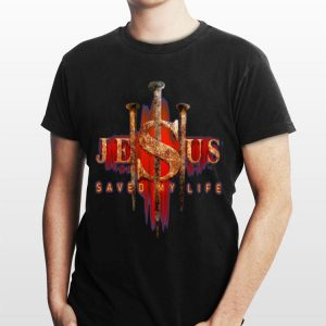 Jesus Saved My Life sweater