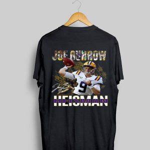 Joe Burrow Heisman Signatures shirt