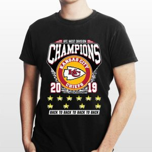 Kansas City Chiefs AFC West Division Champions 2019 back to back big ten sweater