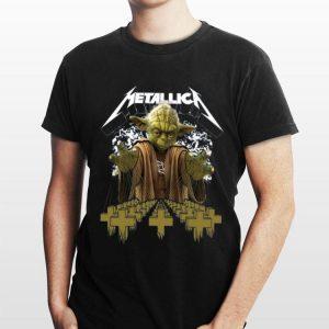Master Yoda Metallica shirt