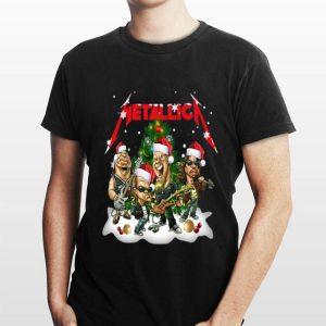 Metallica Members Santa Christmas Tree sweater