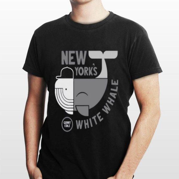 New York's White Whale Gerrit Cole shirt