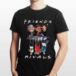 Novak Djokovic Roger Federer Rafael Nadal Friends Water Reflection Rivals shirt