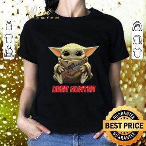 Original Baby Yoda hug Deer Hunter Star Wars Mandalorian shirt