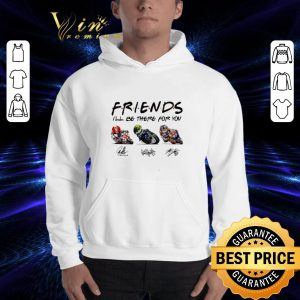 Original Friends I'll be there for you Marco Simoncelli Valentino Rossi Nicky Hayden signature shirt 2