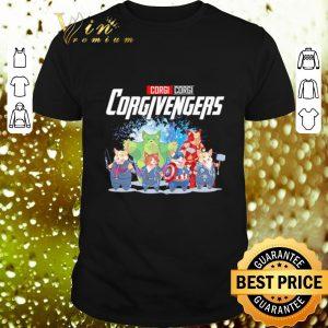 Original Marvel Studios Corgi Corgivengers Avengers Endgame shirt
