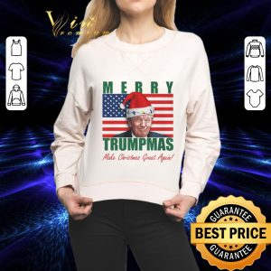 Original Merry Trumpmas Make Christmas Great Again Christmas shirt