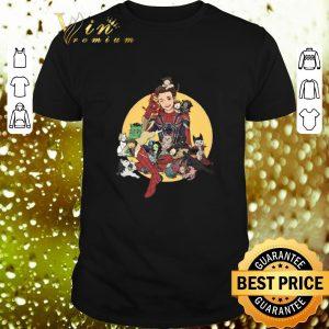 Original Peter Parker Spider man and Avengers cat shirt