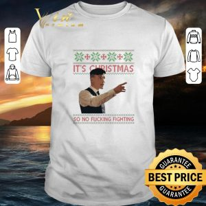 Original Thomas Shelby It's Christmas so no fucking fighting Peaky Blinders sweater