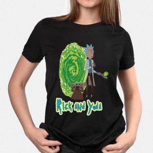Rick And Yoda shirt