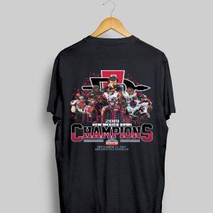 San Diego State Aztecs 2019 New Mexico Bowl Champions December 21 2019 Dreamstyle Stadium shirt