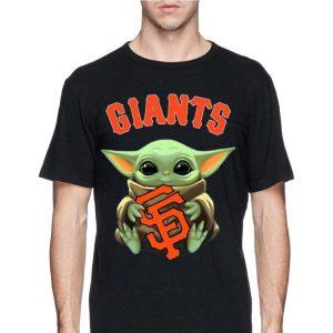 San Fran Giants baby Yoda shirt