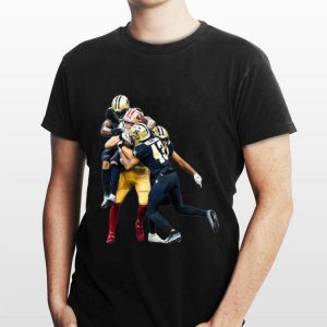San Francisco 49ers vs New Orleans Saints Marcus Williams shirt
