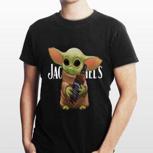 Star Wars Baby Yoda Hug Jack Daniel's shirt