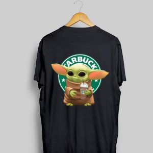Star Wars Baby Yoda Hug Starbucks shirt