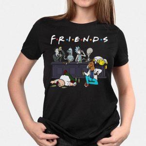 Bender Homer Simpson Rick Bojack Horseman Friends shirt